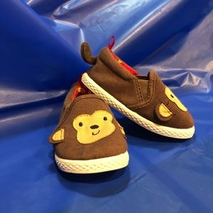 Toddler slip on canvas shoe